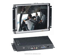 Polegada 12 open frame monitor lcd para controle industrial