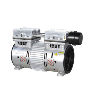 Factory best price 2 cylinder oil free micro air compressor pump for sale
