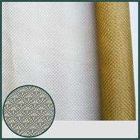 nylon dripping pattern pvc coat mesh for decoration bag and shoe