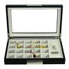 Classic 20 Section Earrings Jewelry Box