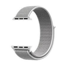 Спортивный ремешок для Apple Watch band 4 3, ремешок iwatch 44 мм 40 мм, ремешок correa Apple watch 4 с застежкой-липучкой 42 мм 38 мм, аксессуары(Китай)