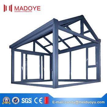 Thermal Break Aluminium Frame Glass Sun Room Extension - Buy Sunroom ...