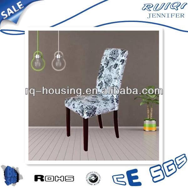 Tela de comedor silla de respaldo alto tapizado silla de comedor de madera silla de comedor rq - Como tapizar una silla con respaldo ...