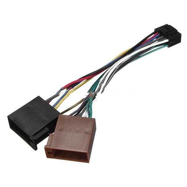 alicolu 16pin iso car stereo audio wiring harness ... stereo wiring harness connectors for gm radio wiring harness connectors
