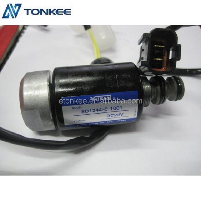 SD1244-C-1001 original solenoid valve PC60-6/7 PC100 PC120-6 WX60-6 WX60-7