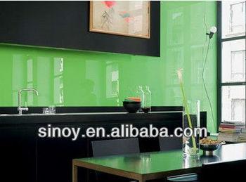 4mm Grün Sinoy Lackiertem Glas Schrank Für Die Küche Backsplash