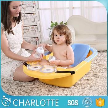 Promotional Top Quality Kids Plastic Bathtub New Baby Bath Tubs Baby Bath  Seat