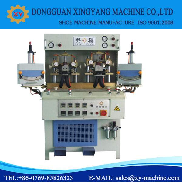 Cold & Hot Shoe Toe Cap Moulding Machine Sneaker Making Machine