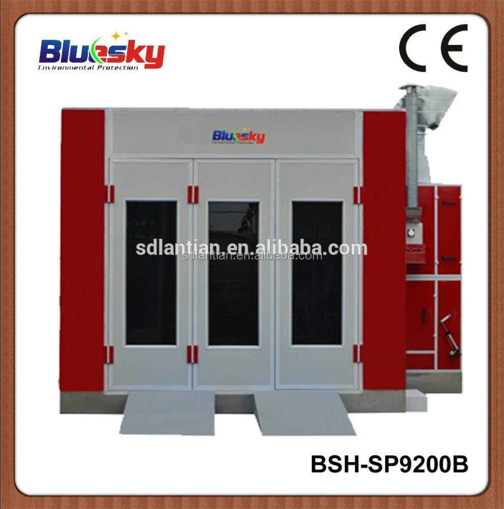 China supplier auto paint/bus spray booth/out door spray booth