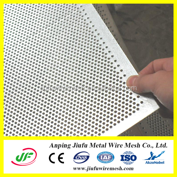 manufacture round hole galvanized Perforated Metal as tray
