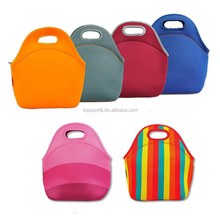 Cute customized neoprene insulated lunch bag Thermal bag for lunch box