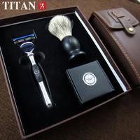 men shaving gift set razor for men 5 blades shaver ,set of razor shaving