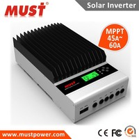 98% high efficiency MPPT 45A 60A Solar charger