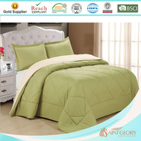 new style bright color quilt with polyester filling