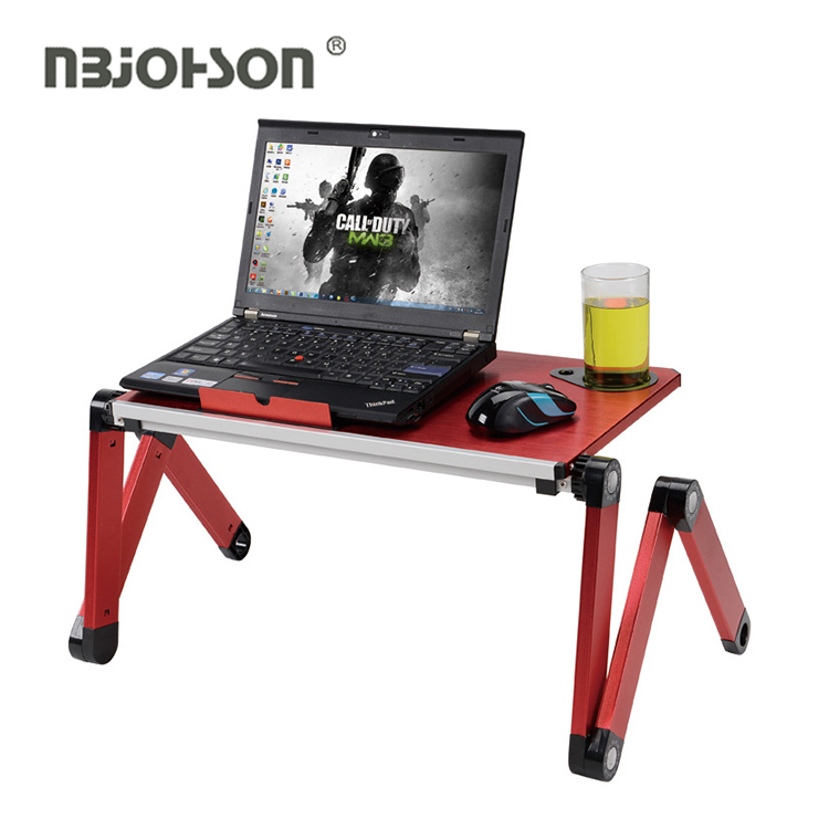 Premium cooling stand foldable portable height adjustable computer laptop desks table