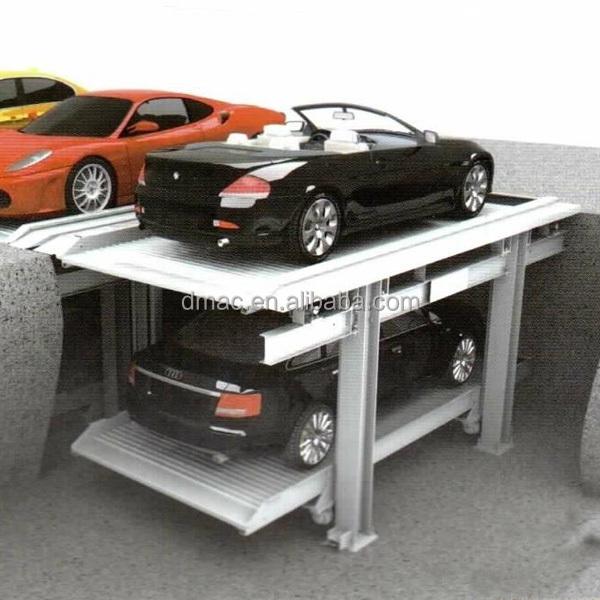 unit simple pour 2 voitures deux niveaux de voiture. Black Bedroom Furniture Sets. Home Design Ideas