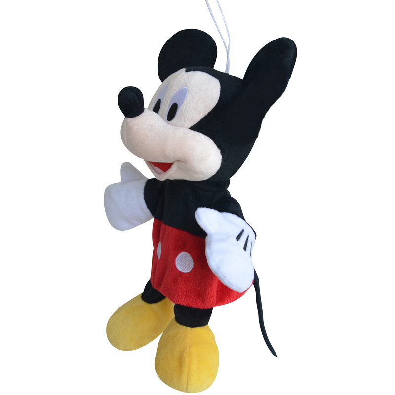 professional Mickey Mouse cartoon character hand puppet