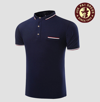 Guangzhou manufacture latest new design mens polo shirt 100% cotton customized for men polo t shirt design