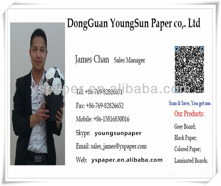 300~650gsm grey liner board, either in paper sheet or grey paper roll