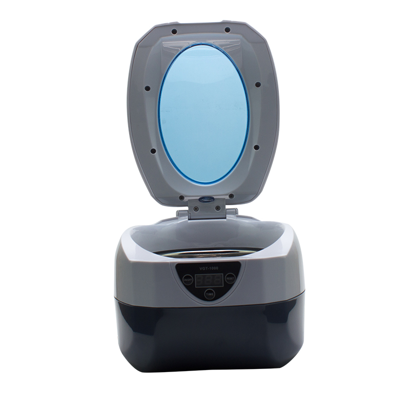 High quality digital timer automatic salon tools nail ultrasonic cleaner