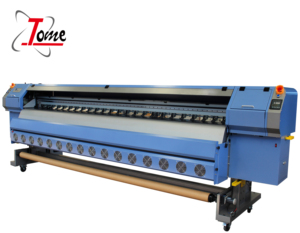 allwin 3.2m dx5 head flex banner konica 512i solvent printer