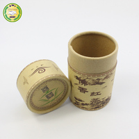 kraft pencil tube with clear pvc window kids pencil sharpener packing use cardboard paper tube