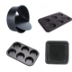 Carbon steel Oven use Cake mold pan Madeleine mold Muffin cake non stick bakeware set