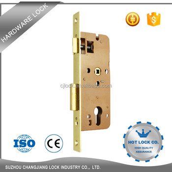 Zinc Alloy Floor Mounted Interior Manual Door Lock