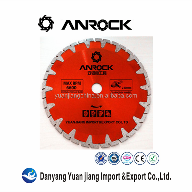 For stone,granite,marble cutting fast and quick cutting diamond saw blade
