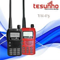 TESUNHO TH-F5 portable small lightweight body compact vox two way radios