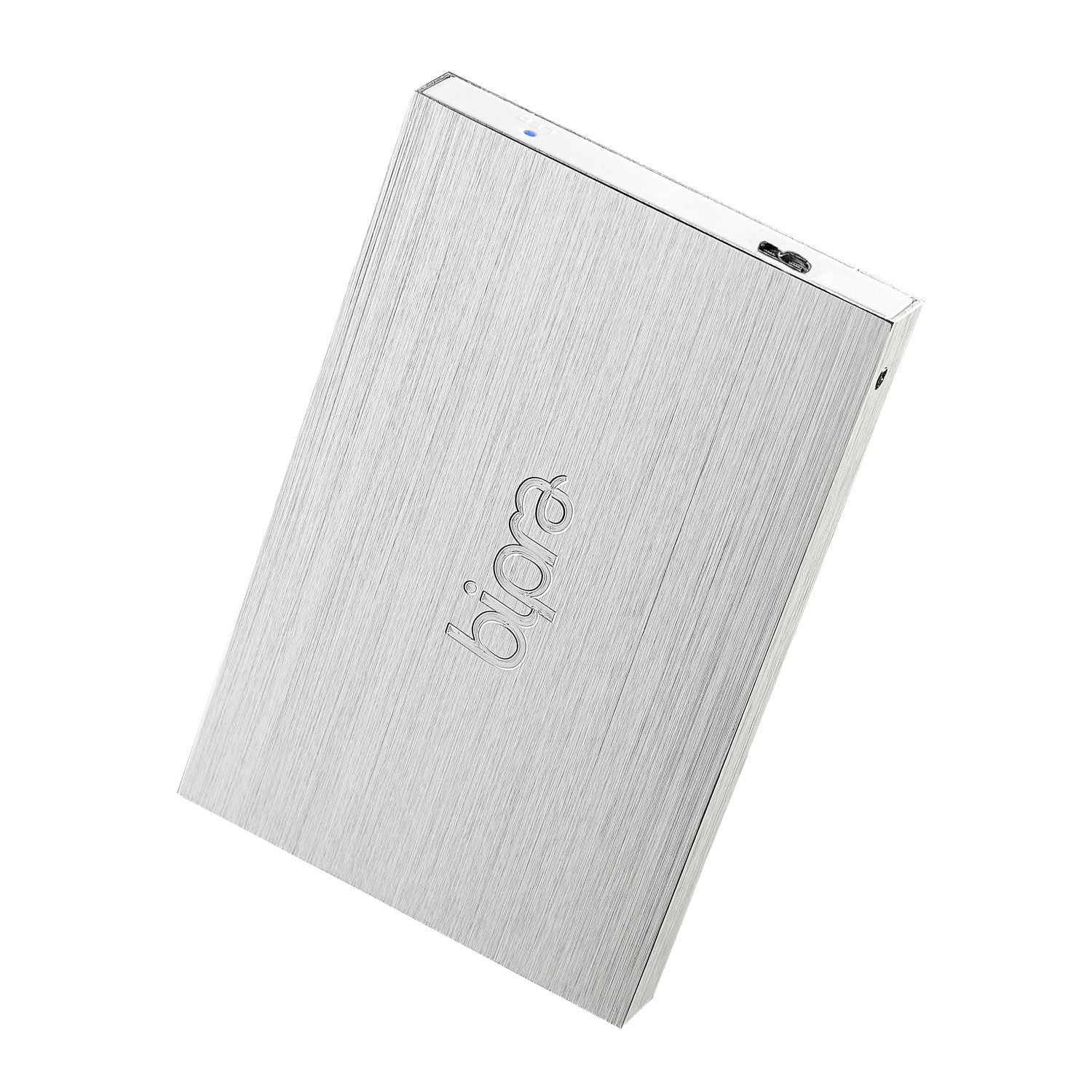 Bipra 320GB 320 GB USB 3.0 2.5 inch Mac Edition Portable External Hard Drive -Silver - Mac OS Extended (Journaled)