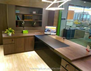 Ufficio Di Lusso : Moderno mobili per ufficio scrivania direzionale con lato