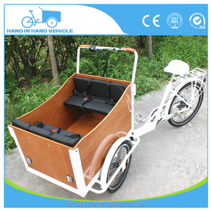 Chain drive transmission system and gas/diesel fuel reverse trike cargo bike