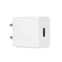 White Color India Plug USB AC Power Wall Charger Adapter For Apple USB Charger