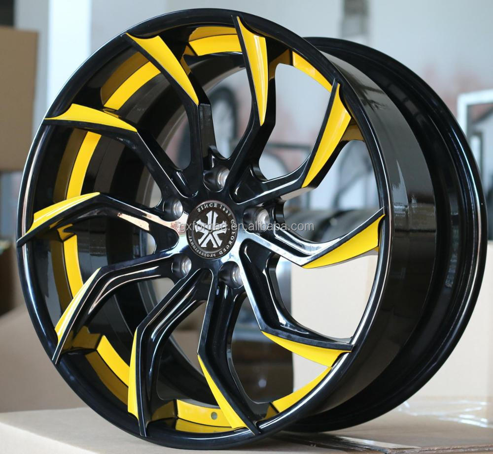 "2 pcs customized forged alloy wheel 16""17""18""19""20""21""22"" inch for deep concave replica car rim by china wheels A4L A6L A8 I8 I7"