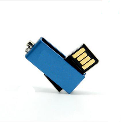 Mini Swivel USB Flash Drive 8 gb with Customized Logo