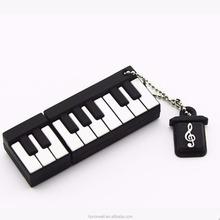 Advertising usb piano stylish usb flash drive pvc 4gb 8gb 16gb