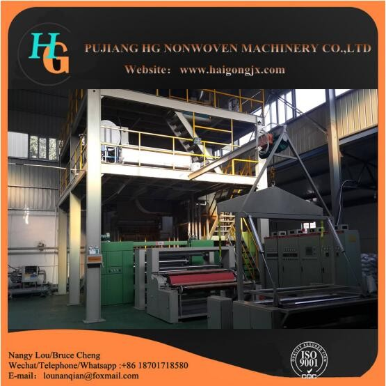 cheap pp spunbond nonwoven fabric making machine