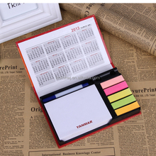 memo pad holder with pen