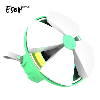 Eson Style Shiny flower Shape IPX4 Bluetooth Waterproof outdoor carabiner OEM ODM Detachable Portable Colorful Wireless Speaker