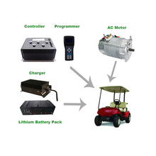 Electric Vehicle 3kw 60v AC Motor