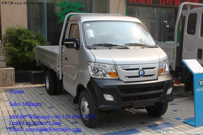 Single Double Cabin Low Price China 1-10tons 4x4 4x2