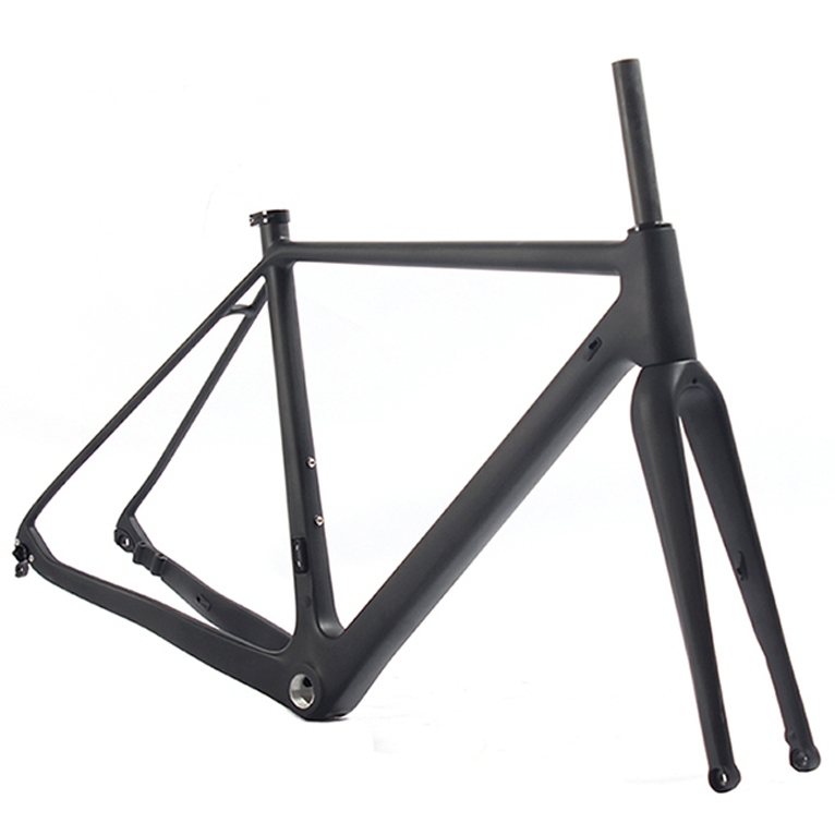 China 700c latest carbon fiber gravel bike frame gravel carbon bike frame