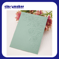 2016 Discount for free new plastic embossing folder for scrapbooking