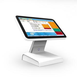 All in one pos system/pos terminal 15.6 inch touch screen cash register for restaurant