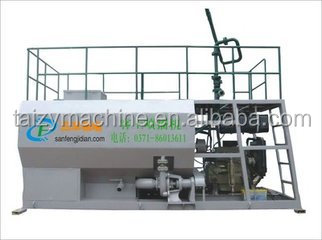 High efficiency hydroseeder machine for landscaping/grass seed spraying machine hydroseeding