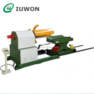 Hydraulic Sheet Metal Decoiler With Coil Car
