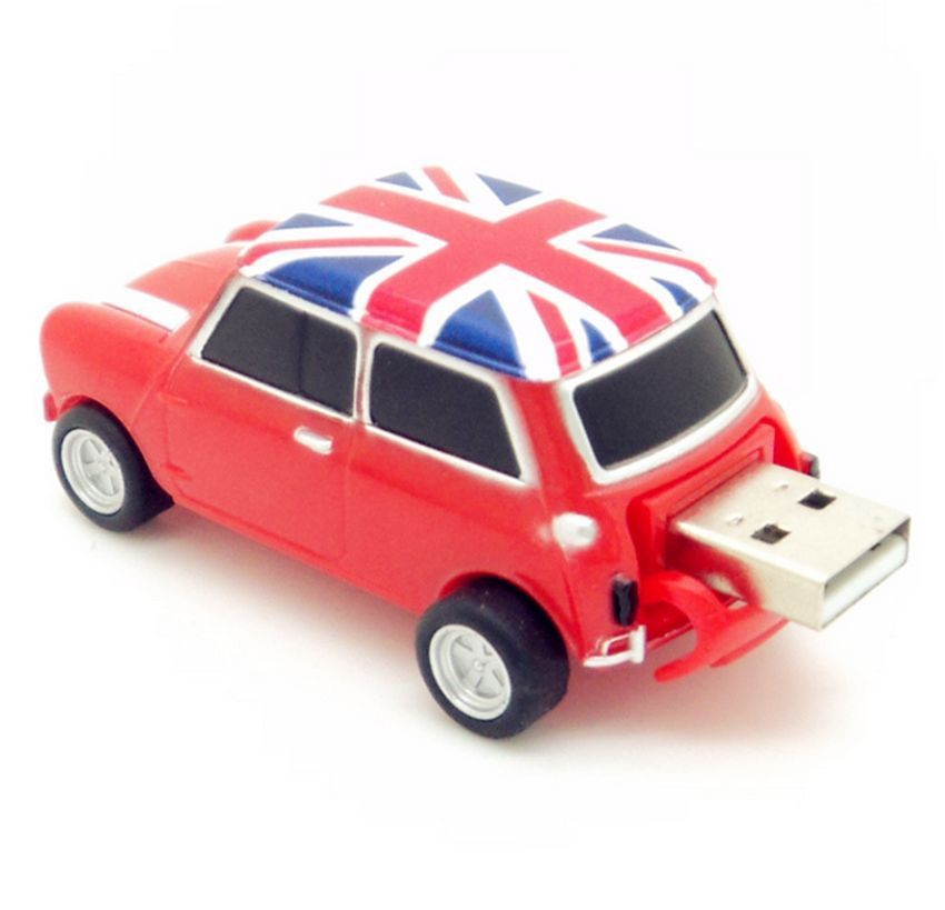 hot england mini cooper car shape usb 2 0 flash drive. Black Bedroom Furniture Sets. Home Design Ideas