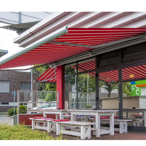 waterproof canvas awning commercial Hand Retractable Awning