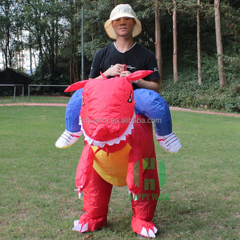 HI CE best selling red dinosaur costume inflatable ride on toys halloween costumes for adults  sc 1 st  Alibaba & Hi Ce Best Selling Red Dinosaur Costume Inflatable Ride On Toys ...